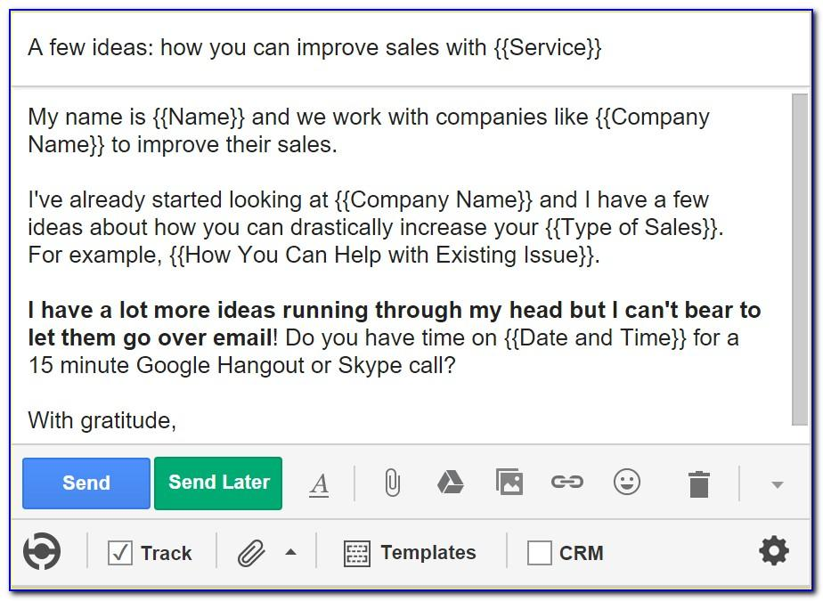 Cold Call Email Templates For Sales