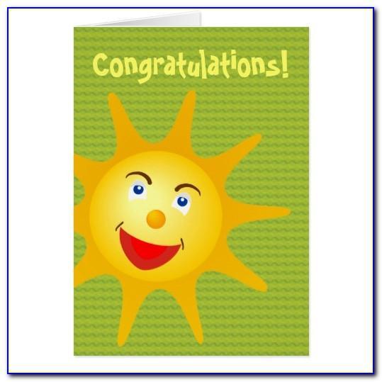 Congratulations Card Templates