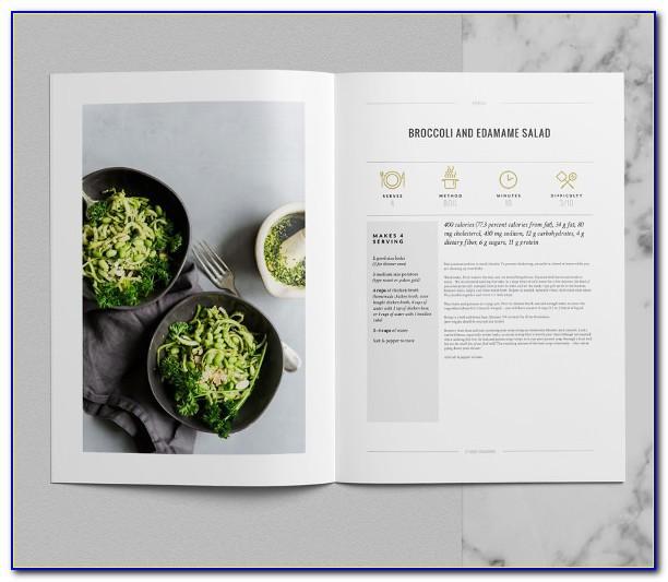 Cookbook Indesign Templates
