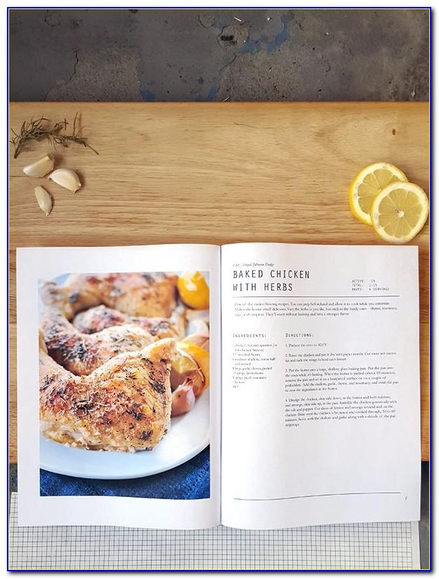 Cookbook Template Indesign Free