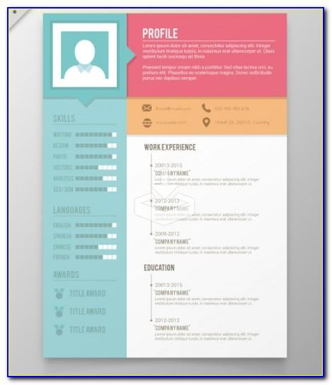 Creative Resume Templates Free Download For Microsoft Word For Freshers