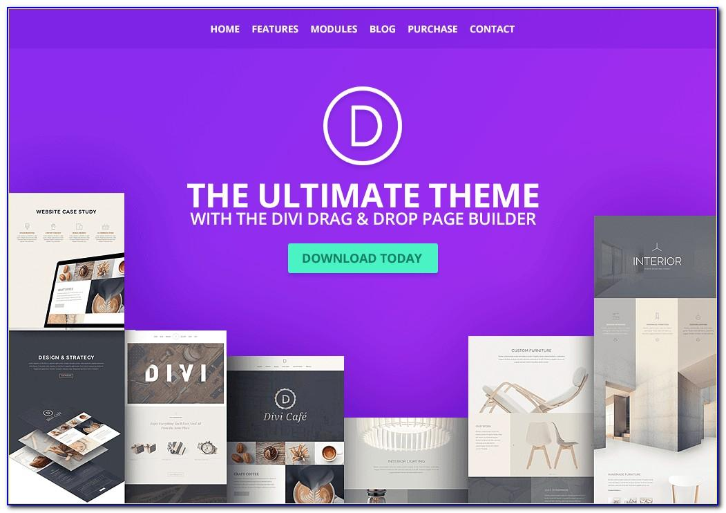 Divi Theme Library Templates