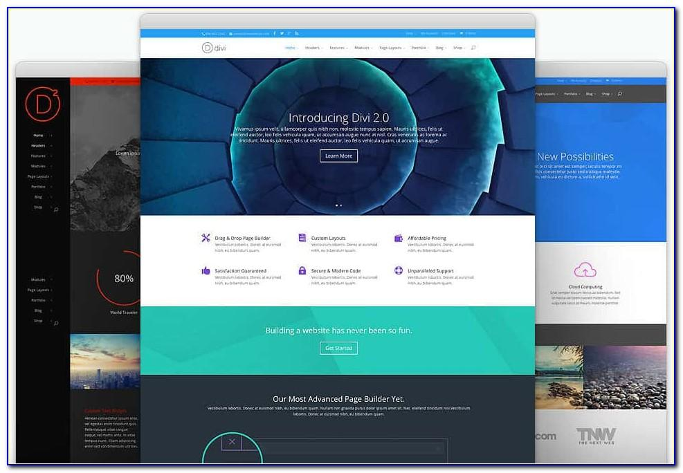 Divi Themes Templates