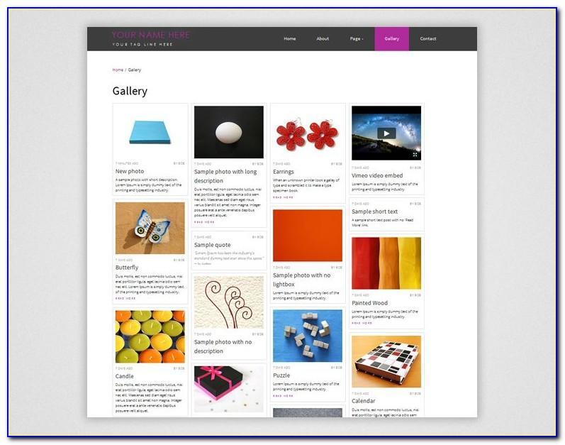Dreamweaver Responsive Templates Free Download