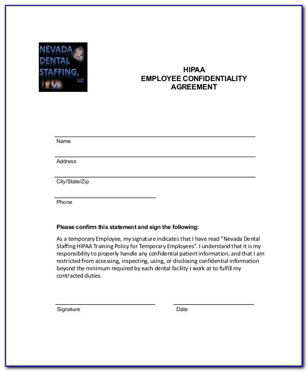 Employee Confidentiality Agreement Template Nz
