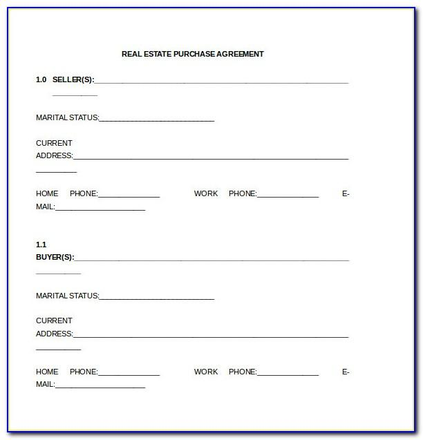 Equipment Purchase Agreement Template Word