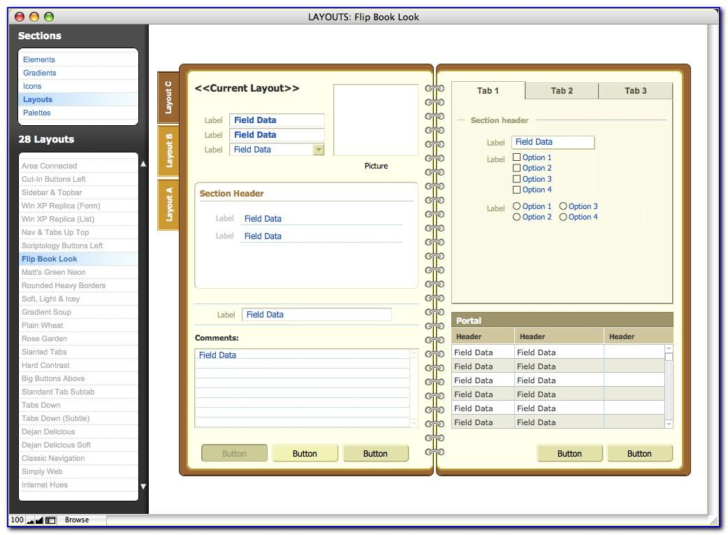 Filemaker Pro Templates Free Download