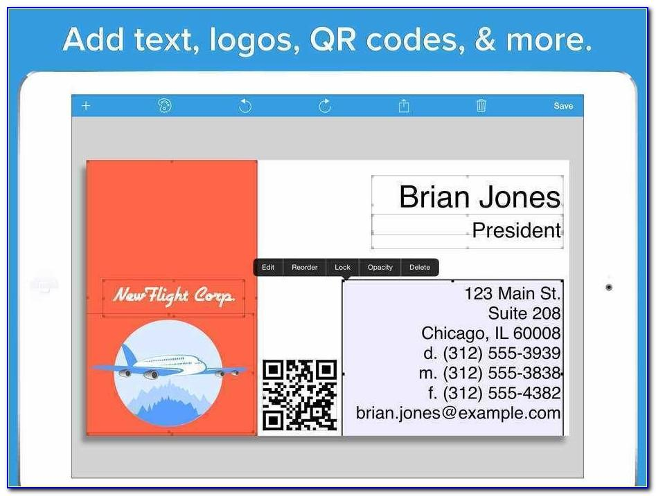 Free Avery Business Card Template 5376