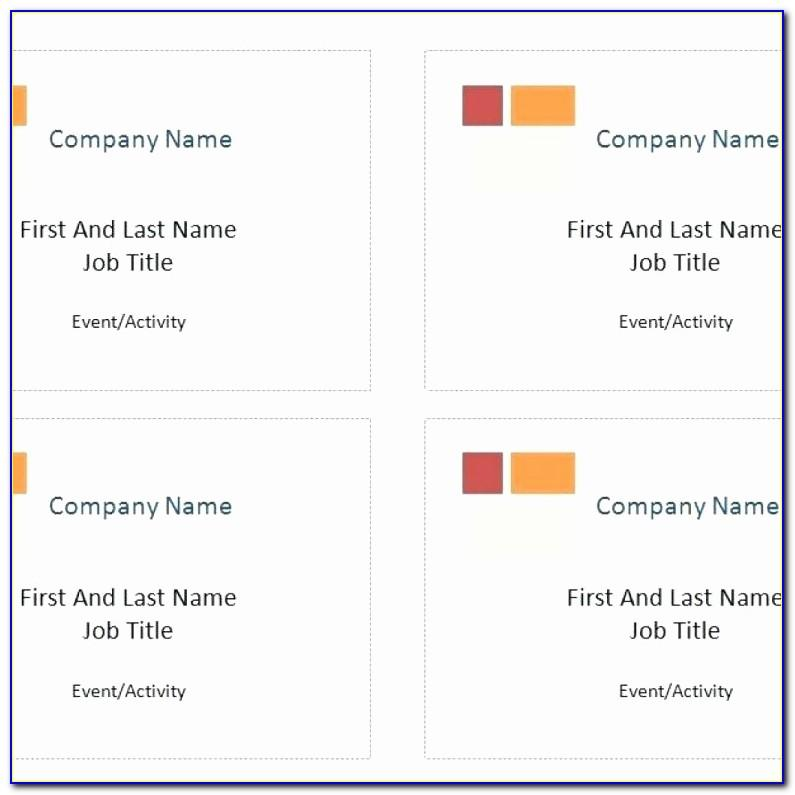 Free Avery Business Card Templates For Word
