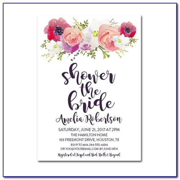 Free Bridal Shower Invite Download