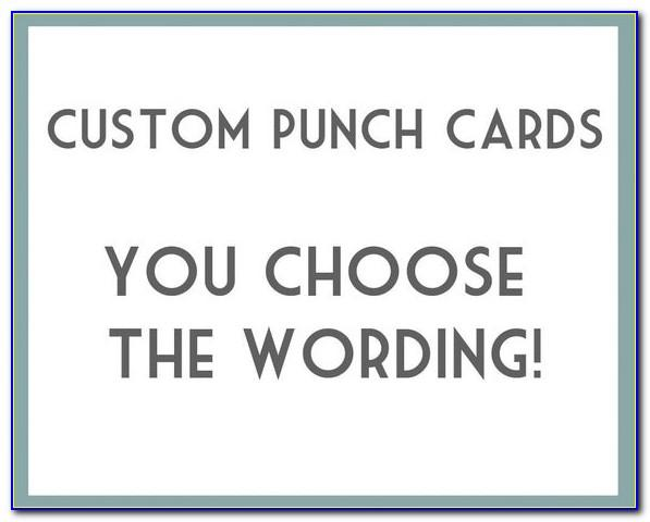 Free Coffee Punch Card Template
