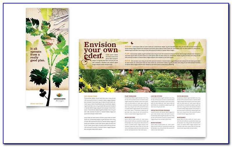 Free Landscaping Flyer Templates Word