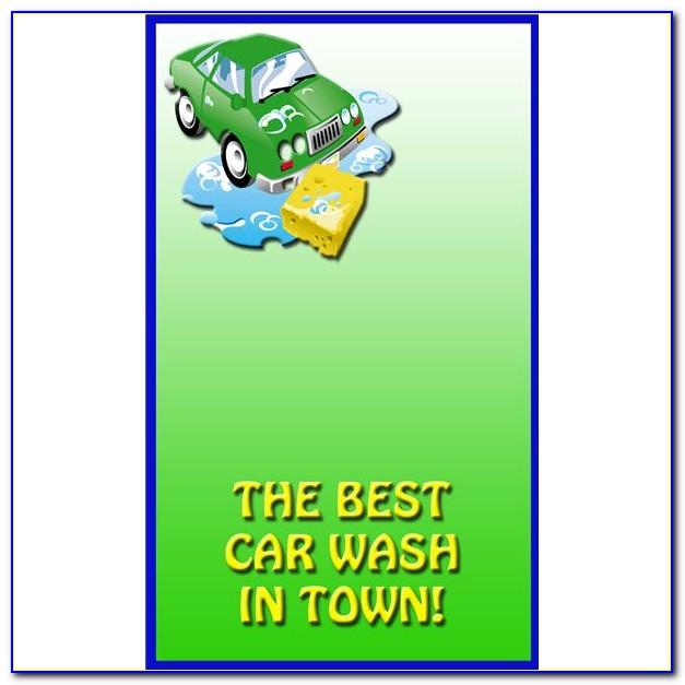 Free Mobile Car Wash Flyer Template