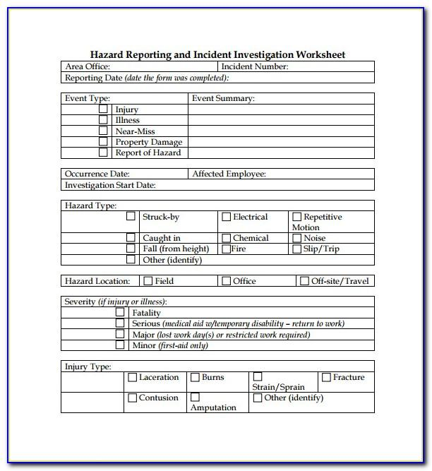 Free Osha Safety Manual Template