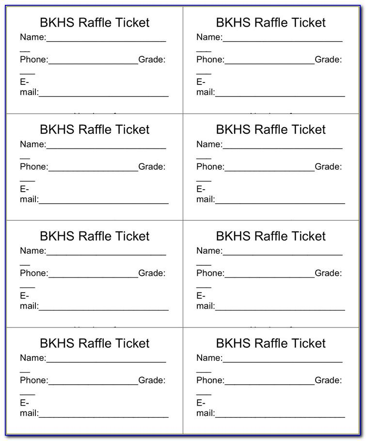 Free Printable Elephant Diaper Raffle Ticket Template
