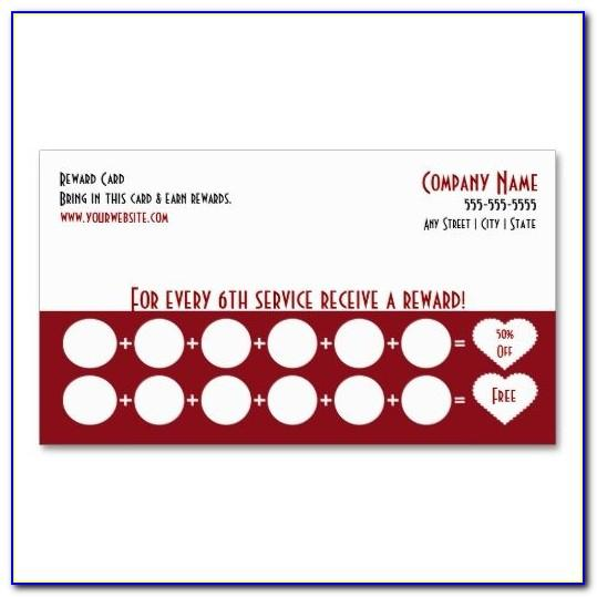 Free Punch Card Template Downloads