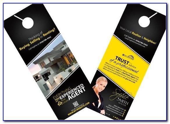 Free Real Estate Door Hanger Templates