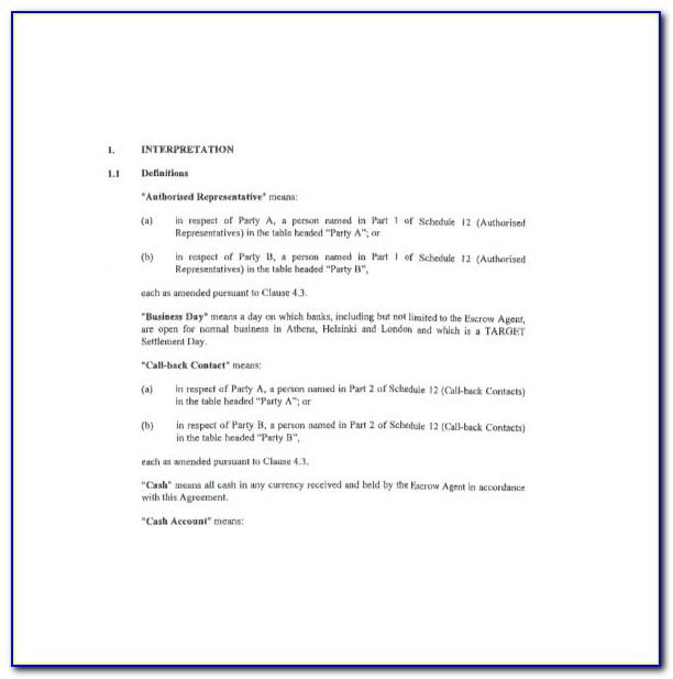 Free Sample Child Visitation Agreement Template Forms