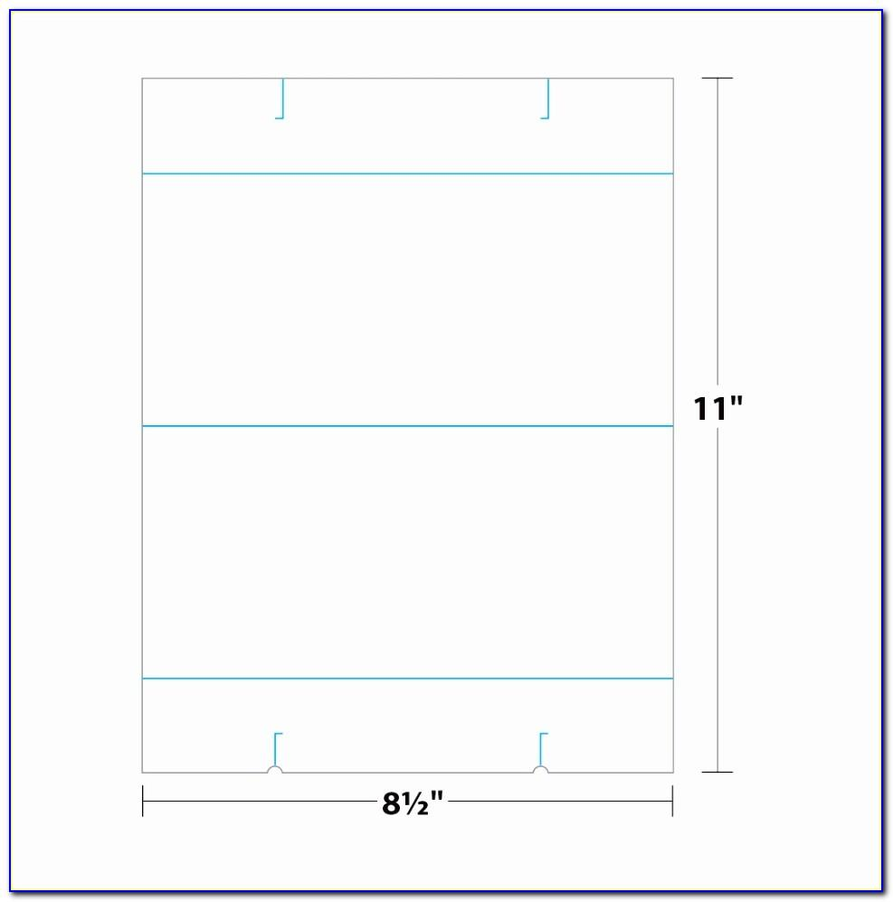 Free Table Tent Template Indesign