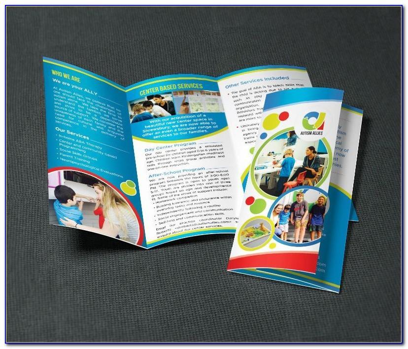 Free Tri Fold Brochure Template (8.5 X 11)