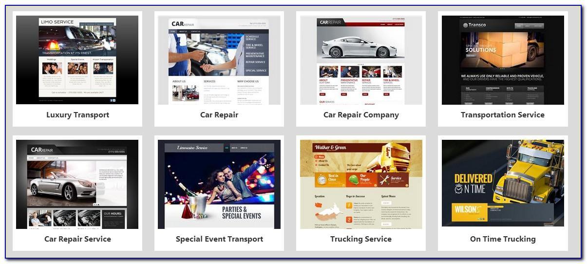 Godaddy Website Builder Templates Gallery