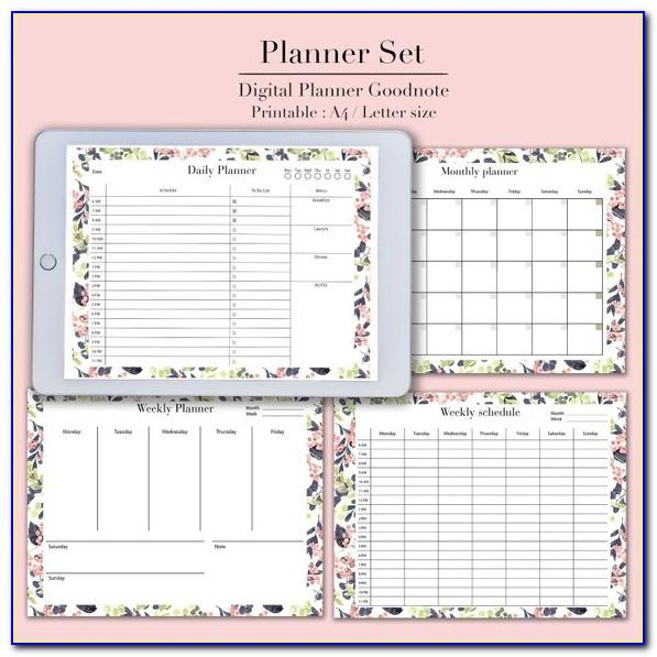 Goodnotes 5 Planner Template