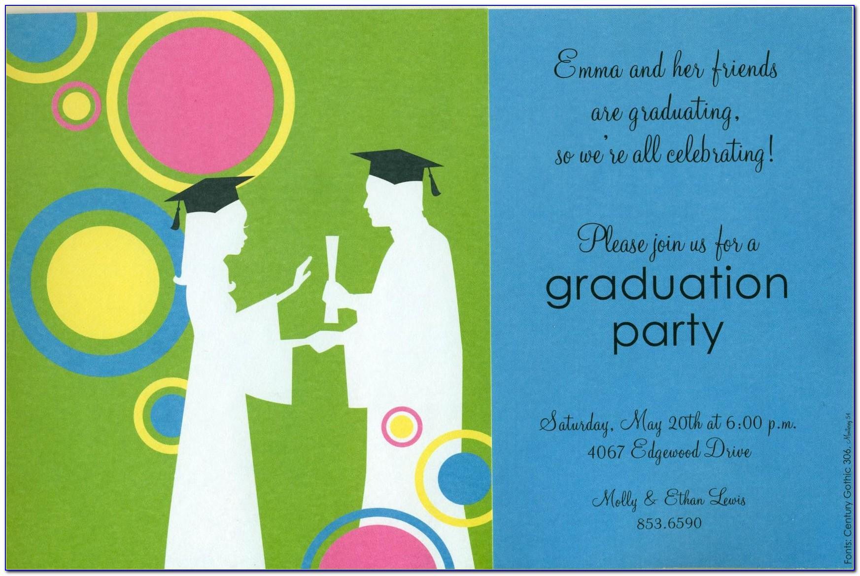 Graduation Invitation Templates Free Photoshop