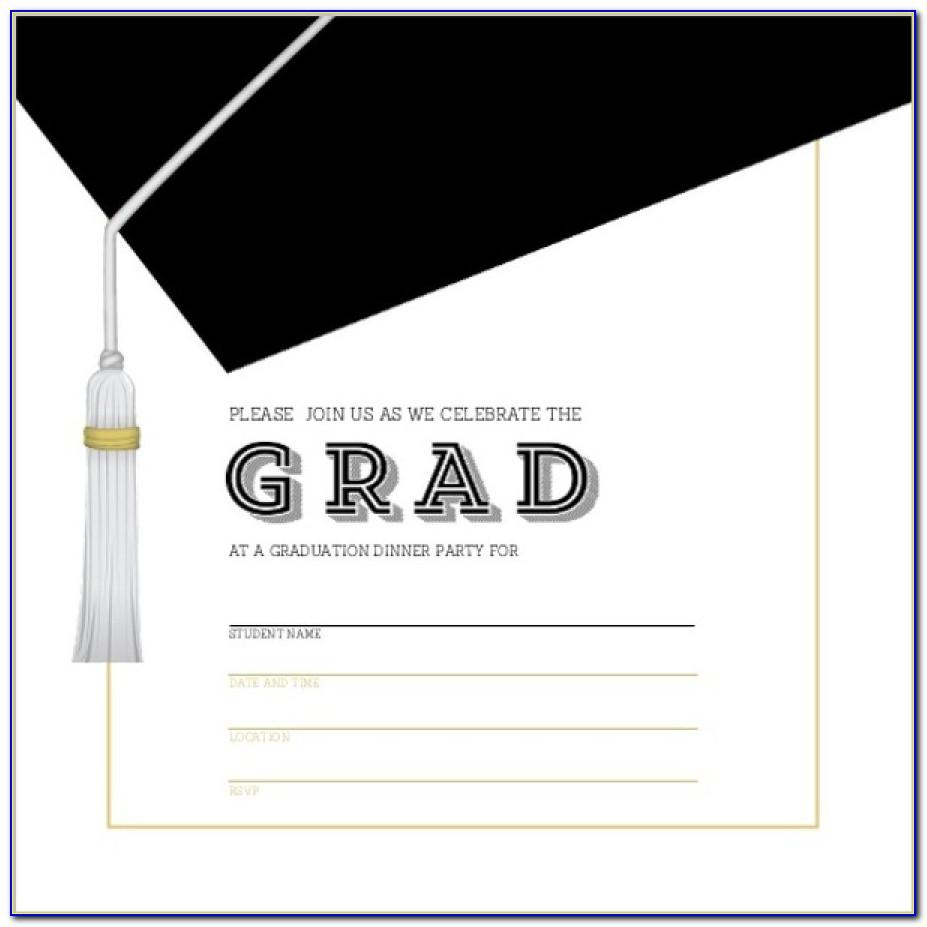 Graduation Party Invitation Templates Free Download
