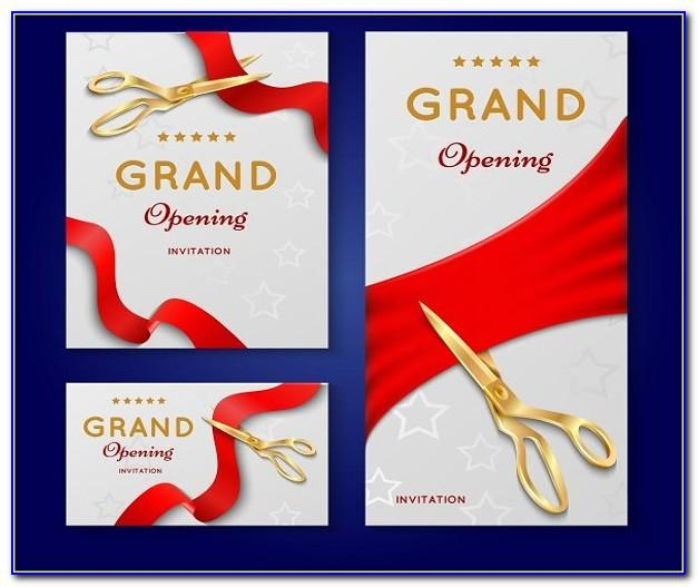 Grand Opening Invitation Sample Letter