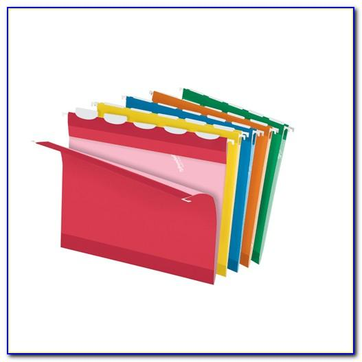 Hanging Folder Tab Insert Template
