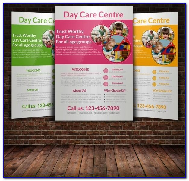 Home Daycare Flyer Templates Free