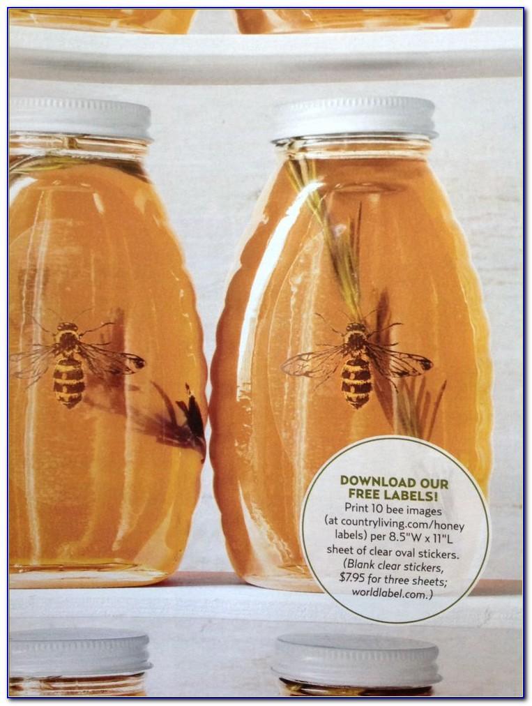 Honey Nutrition Label Template Australia