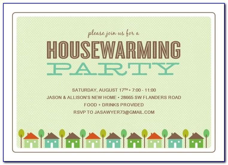 Housewarming Party Invitation Maker