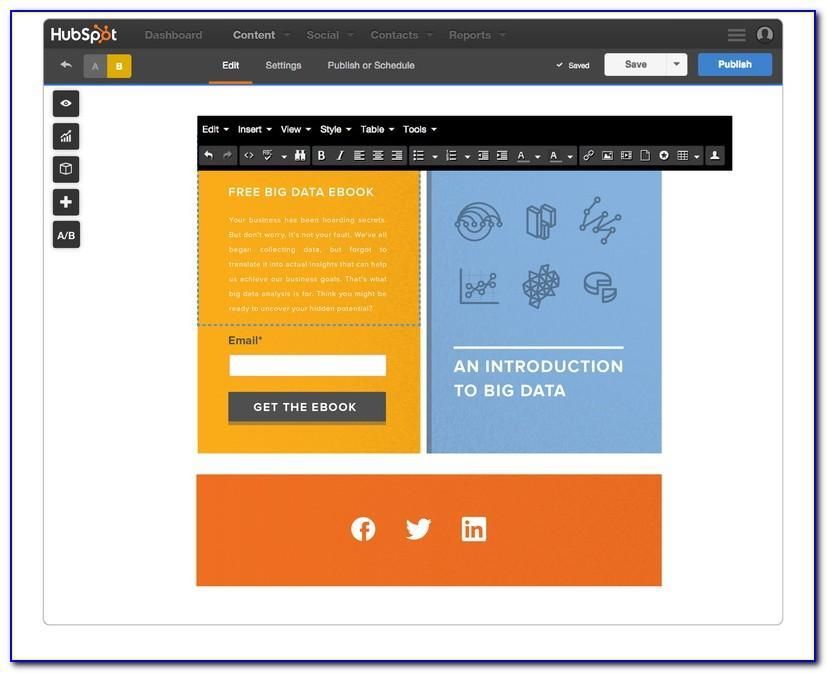 Hubspot Create Landing Page Template