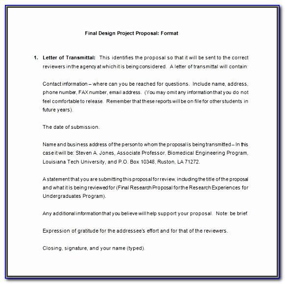 Hvac Installation Proposal Template