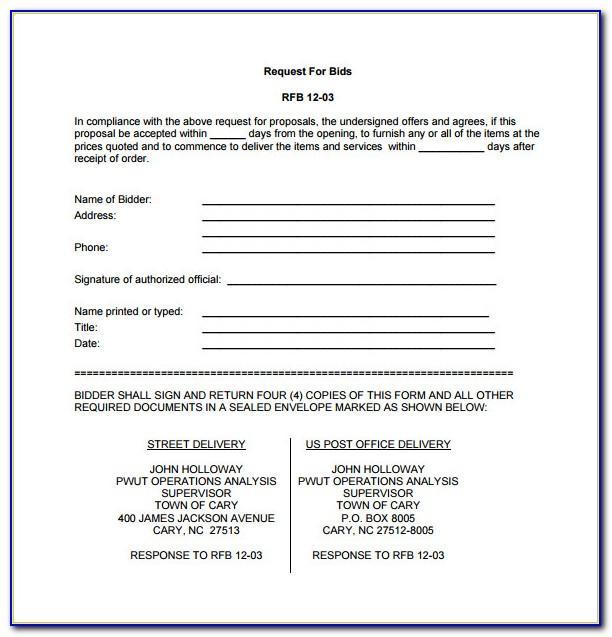 Hvac Maintenance Proposal Templates