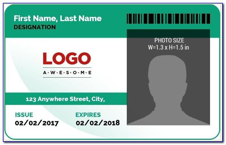 Id Badge Templates Word