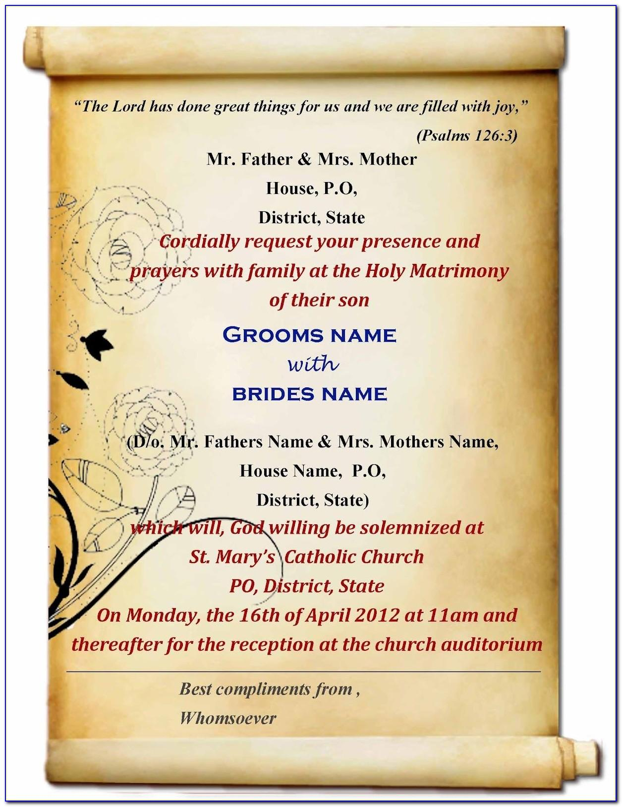 Indian Wedding Invitation Templates Online Edit Free