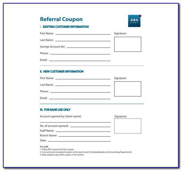 Lyft Referral Card Template