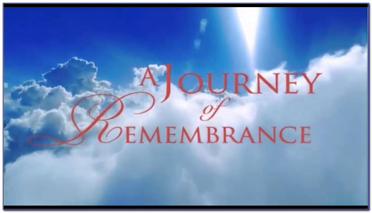 Memorial Photo Slideshow Template