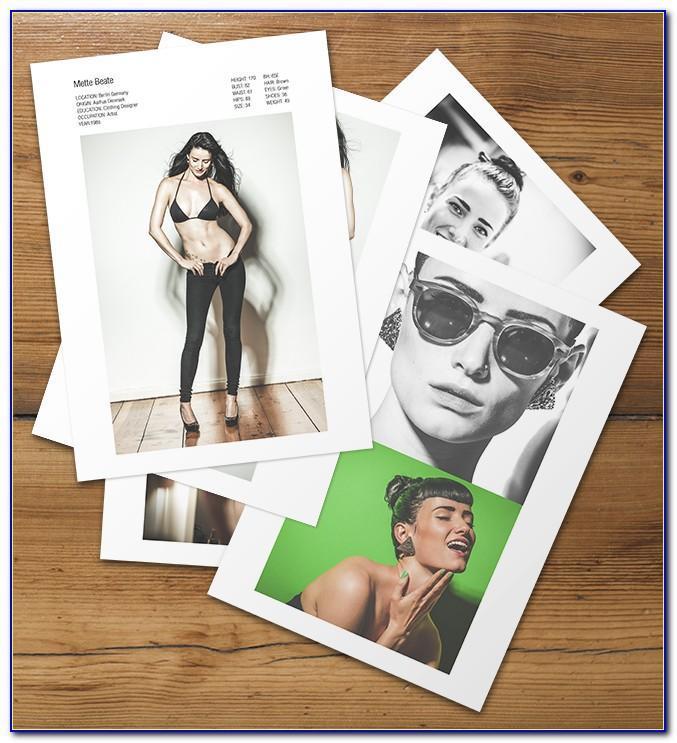 Modeling Portfolio Template Free