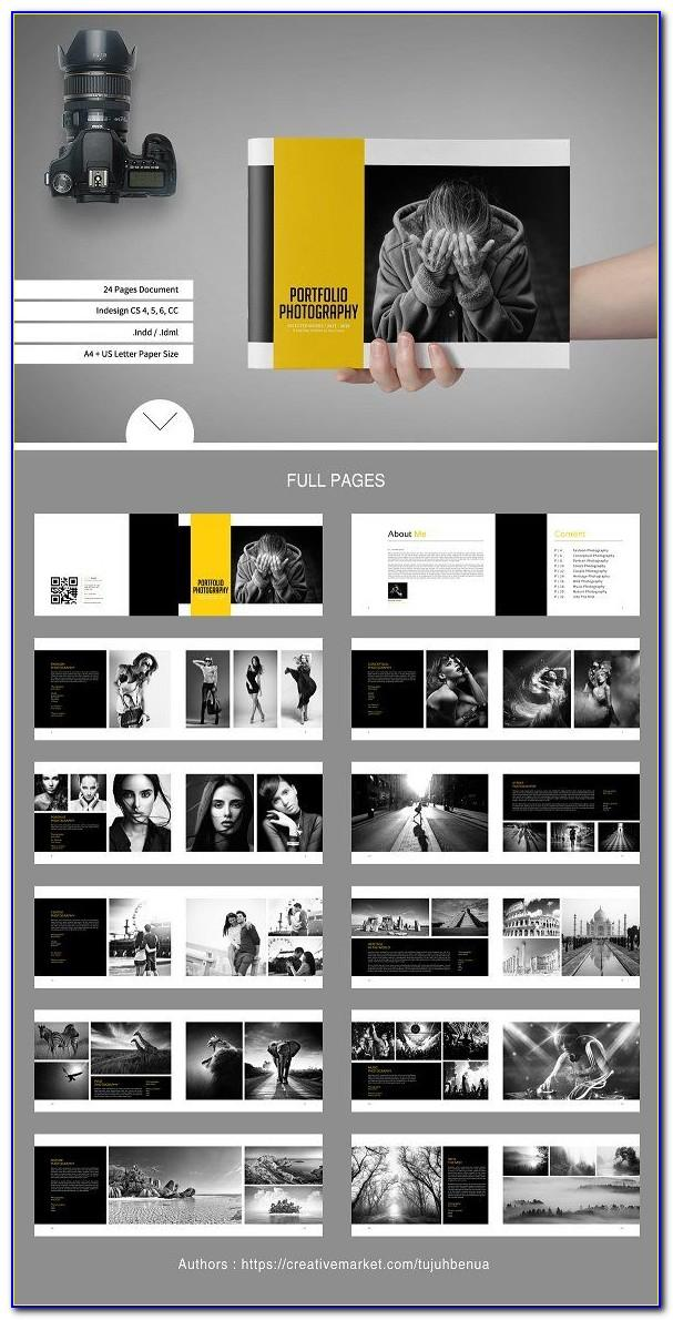 Modeling Portfolio Template Pdf