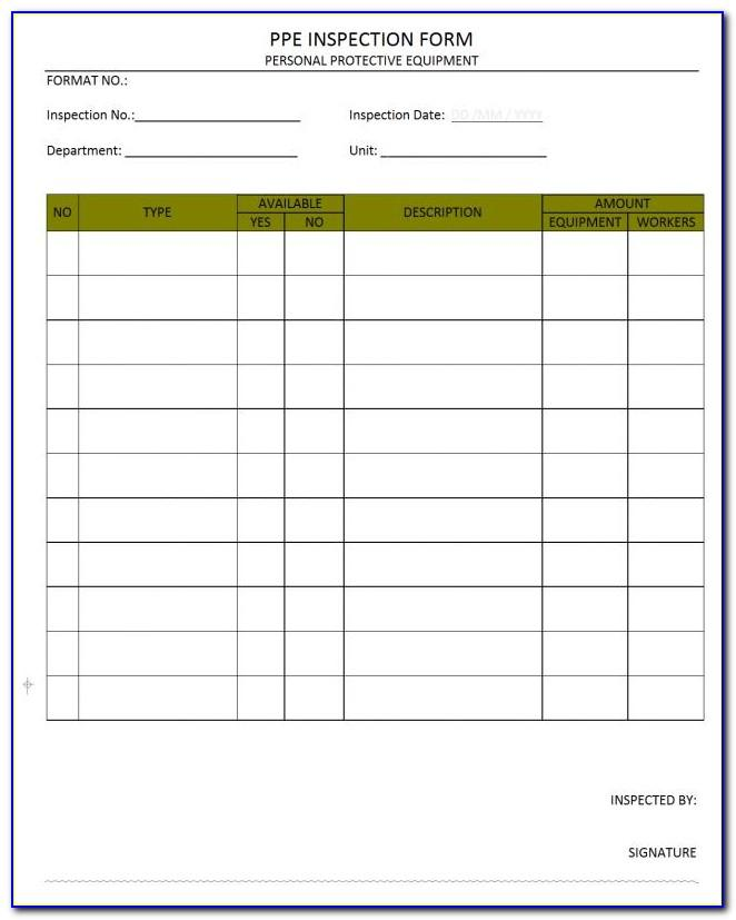 Osha Health And Safety Manual Template
