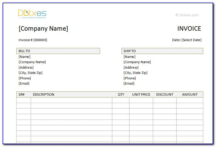 Paid Invoice Example