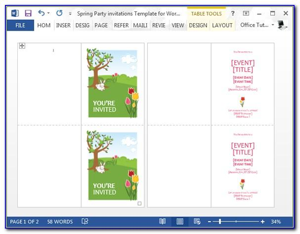 Party Invitation Wording Samples