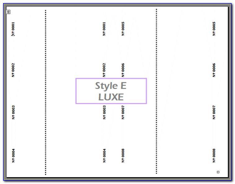 Printable Raffle Ticket Template (2)