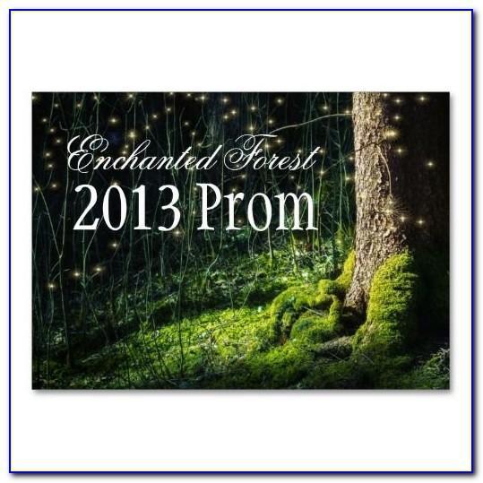 Prom Ticket Design Template