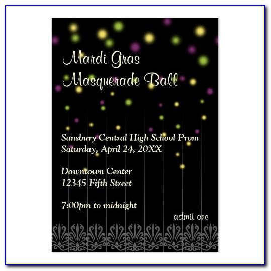 Prom Ticket Template Word