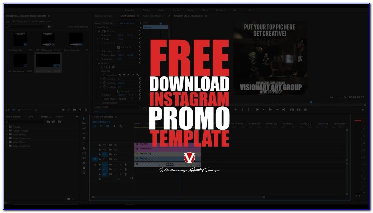 Promo Video Templates Premiere Pro Free Download