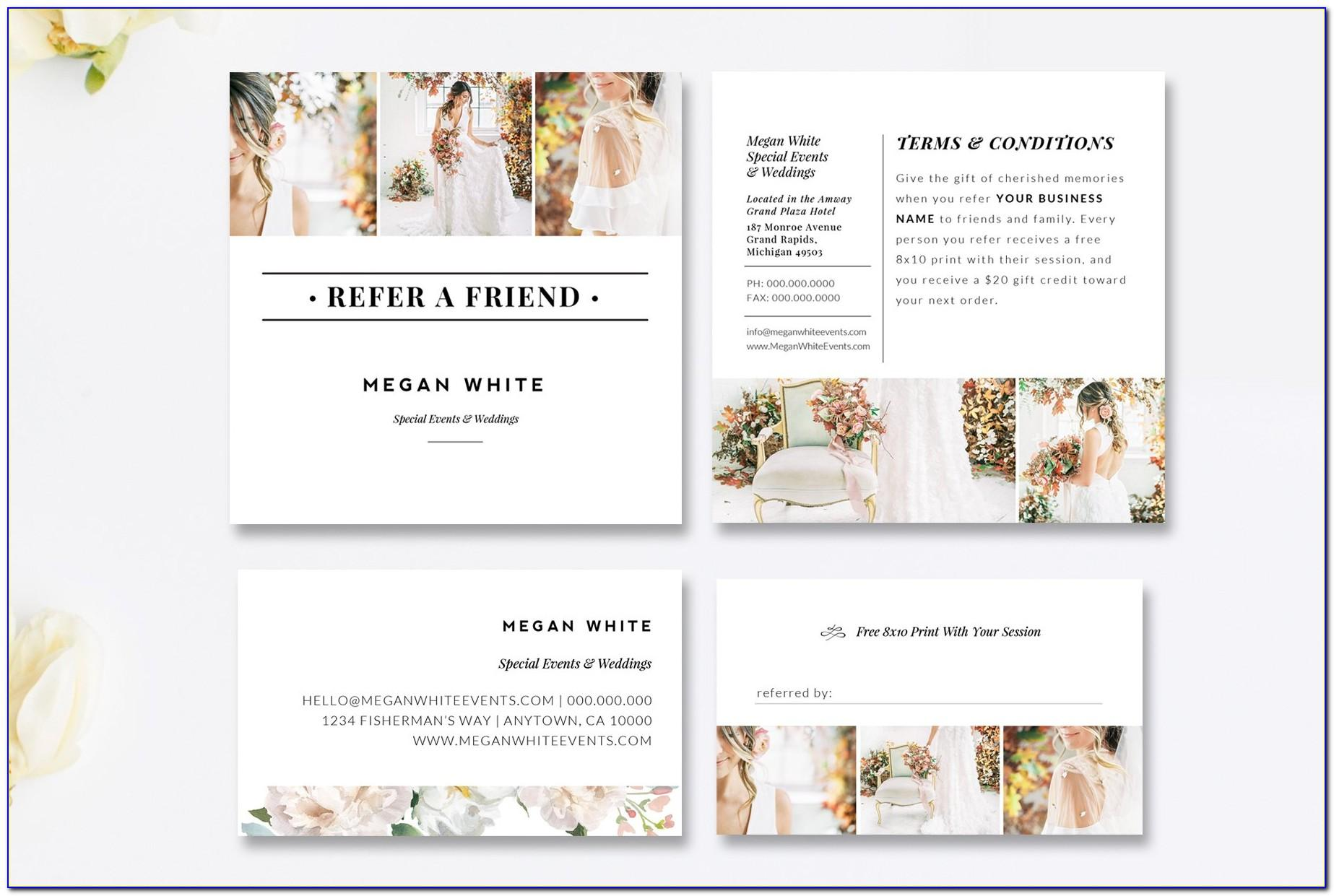 Referral Thank You Card Template